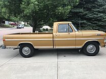 1972 Ford F250 2WD Regular Cab for sale 101004552