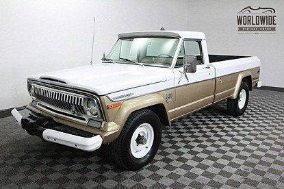 1972 Jeep J-Series Pickup for sale 100766101