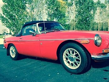 1972 MG MGB for sale 100826191