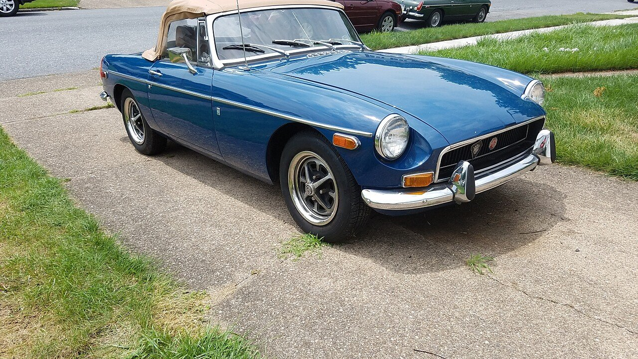 1972 MG MGB for sale 100890858