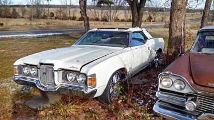 1972 Mercury Cougar for sale 100826185