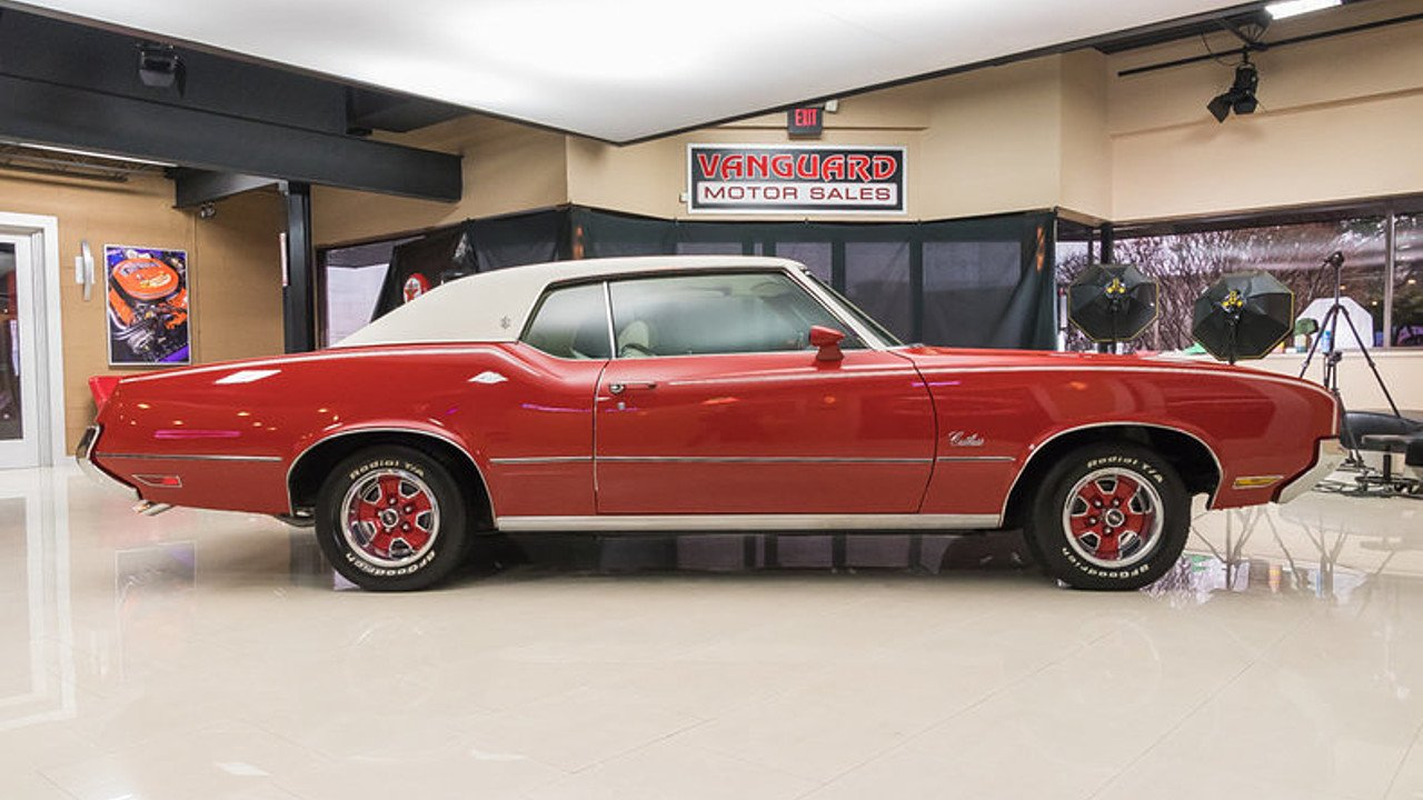 1972 Oldsmobile Cutlass for sale near Plymouth, Michigan 48170 ...