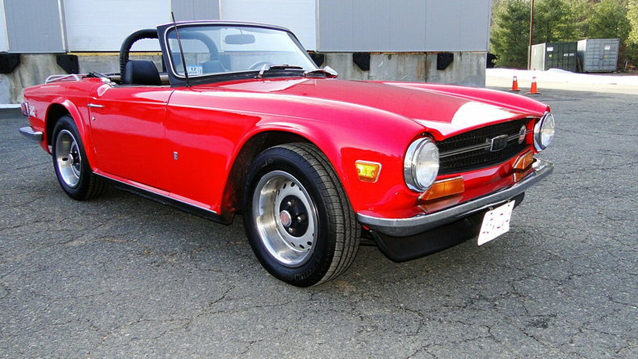 1972 Triumph TR6 for sale near Beverly, Massachusetts 01915 ...