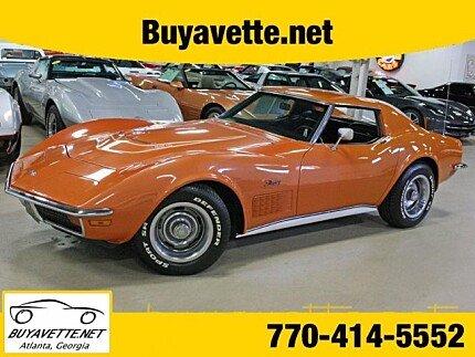 1972 chevrolet Corvette for sale 100859461