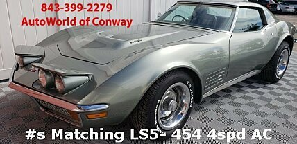 1972 chevrolet Corvette for sale 101046007
