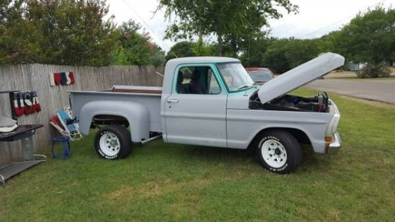 1972 Ford F100 For Sale Near Cadillac Michigan 49601 Classics On 1955 Step Bed 100826498