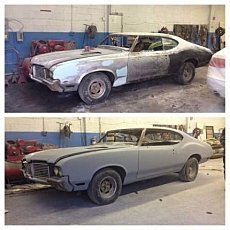 1972 oldsmobile Cutlass for sale 100910732