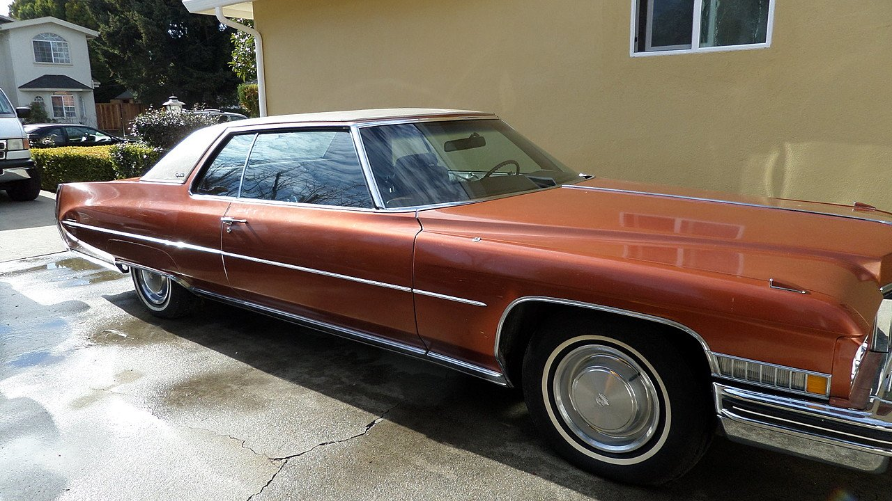 1973 Cadillac De Ville Coupe for sale 101002532