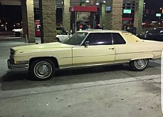 1973 Cadillac De Ville for sale 100826566