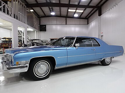 1973 Cadillac De Ville for sale 100942631