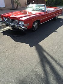 1973 Cadillac Eldorado for sale 100880090