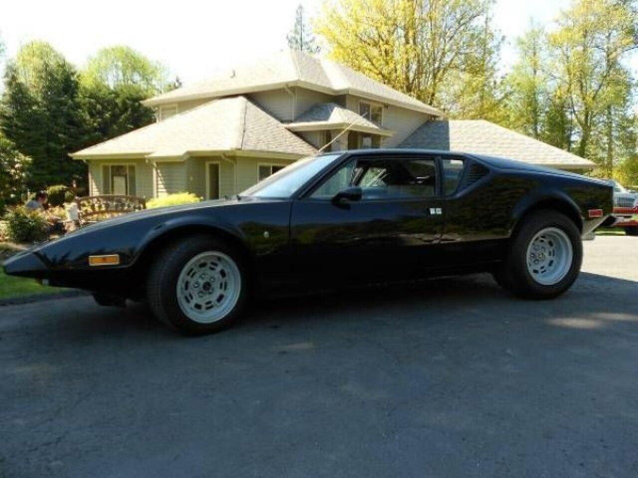 Classic Cars For Sale Auto Trader Com: 1973 De Tomaso Pantera For Sale Near Cadillac, Michigan