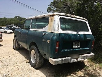 1973 International Harvester Scout for sale 101014622
