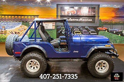 Jeep classics for sale near tampa florida classics on autotrader 1973 jeep cj 5 for sale 100898363 publicscrutiny Image collections