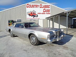 1973 Lincoln Continental for sale 100943126