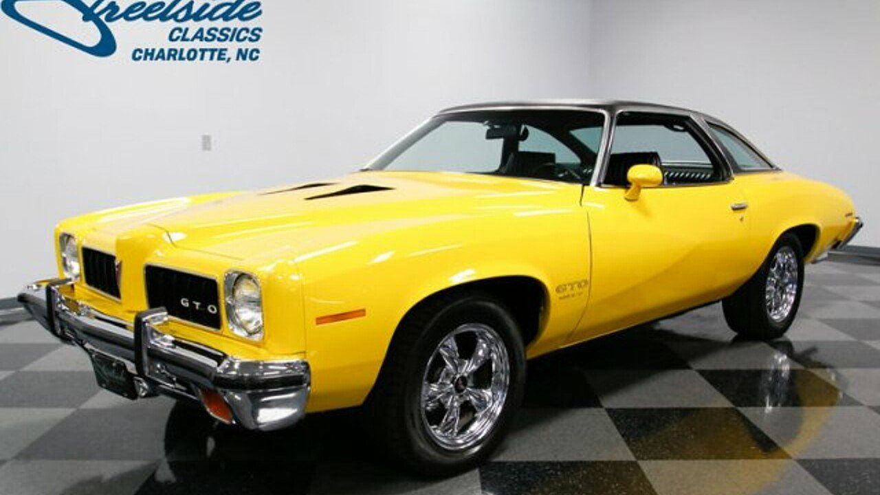 Pontiac GTO Muscle Cars and Pony Cars for Sale - Classics on ...