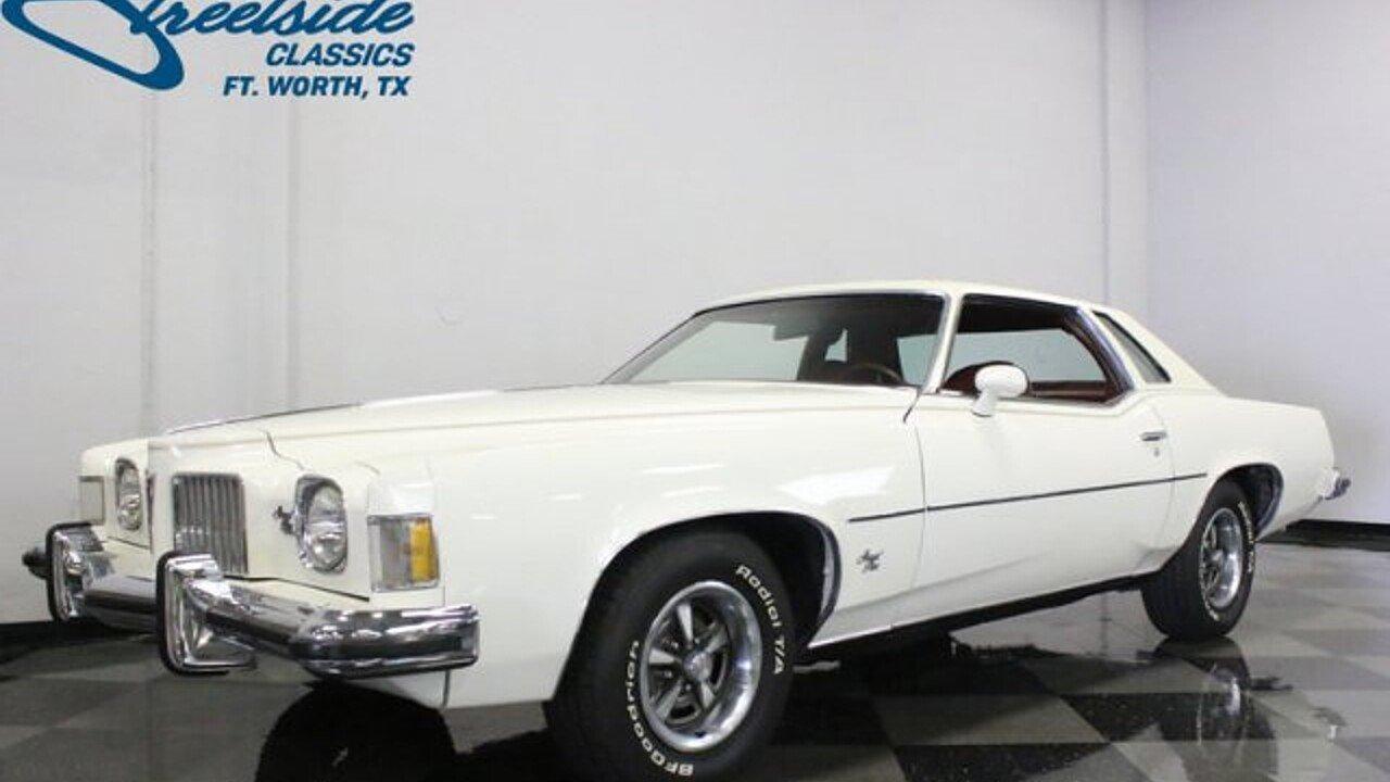 1973 Pontiac Grand Prix for sale near Fort Worth, Texas 76137 ...