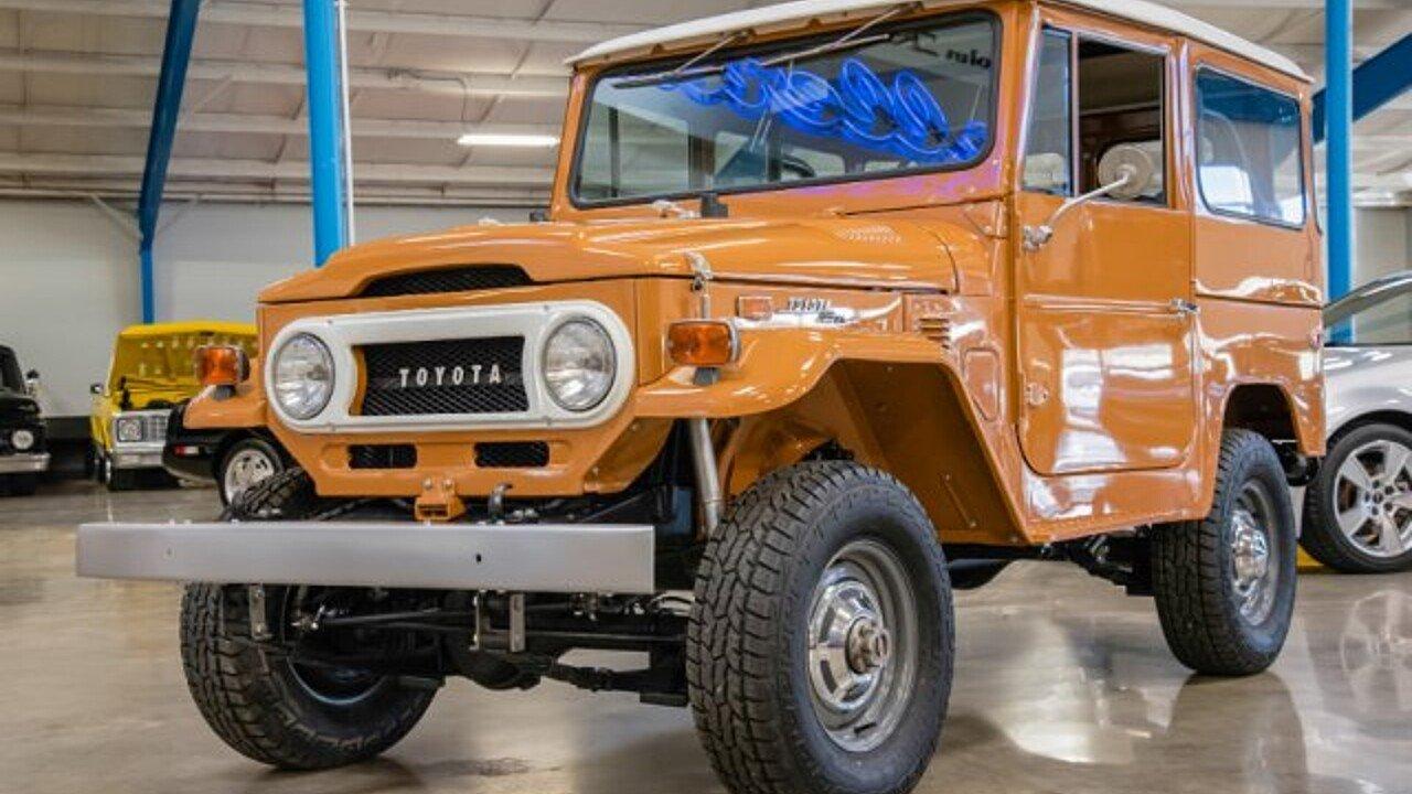 1973 Toyota Land Cruiser For Sale Near Salem Ohio 44460 Classics 100861097