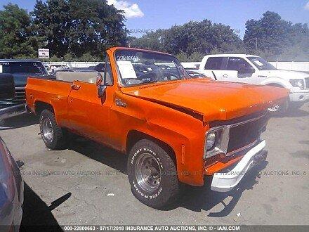 1973 chevrolet Blazer for sale 101015293