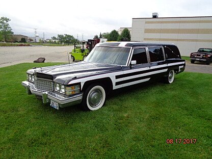 1974 Cadillac Fleetwood Hearse for sale 100896271