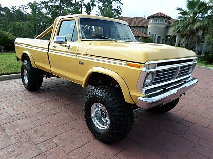 1974 Ford F250 4x4 Regular Cab for sale 100762075