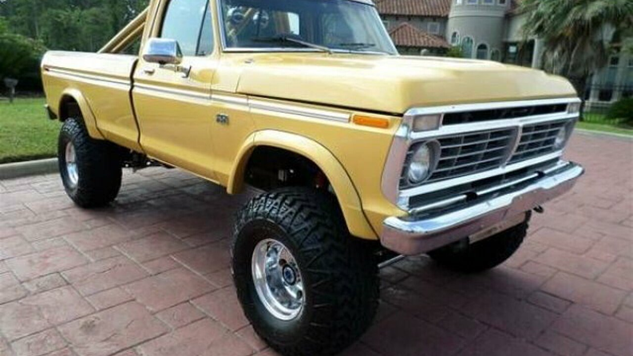 1974 ford f250 for sale near cadillac michigan 49601. Black Bedroom Furniture Sets. Home Design Ideas