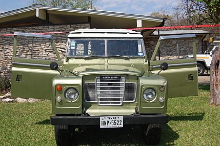 1974 Land Rover Series III for sale 101001534