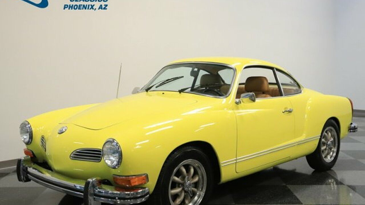 1974 Volkswagen Karmann Ghia Classics For Sale Classics On