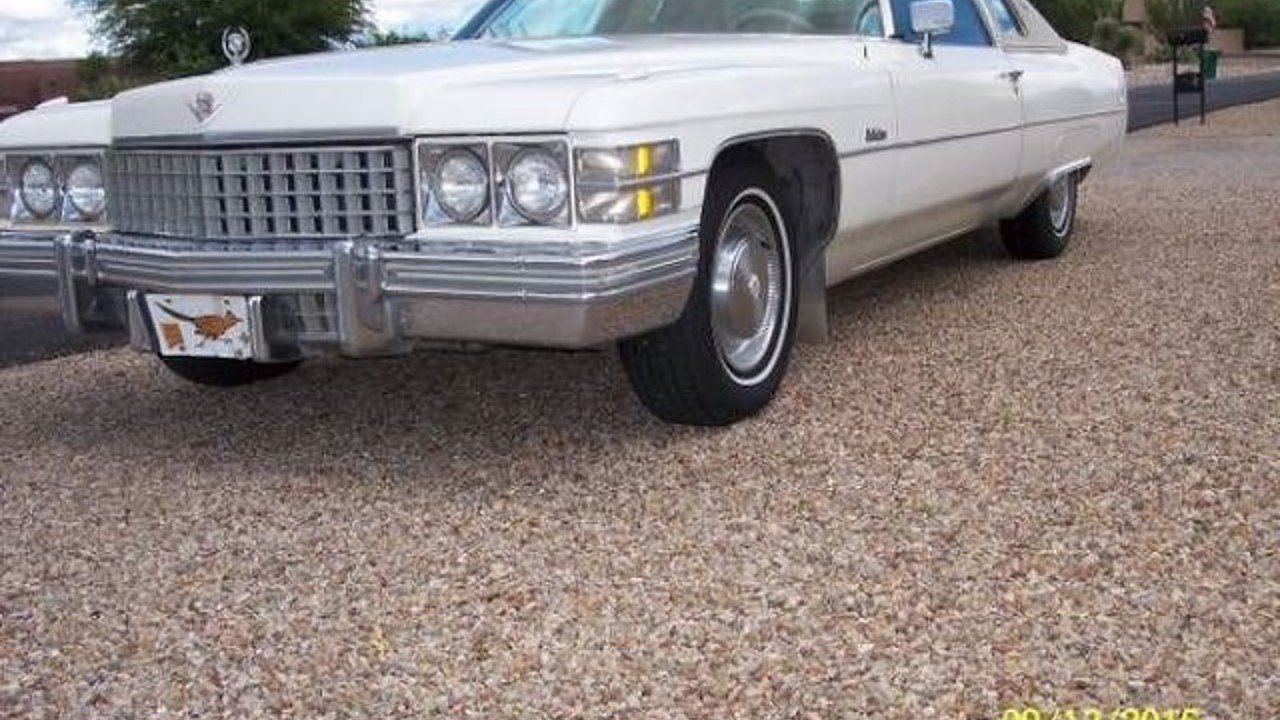 1974 cadillac Calais for sale 100829822