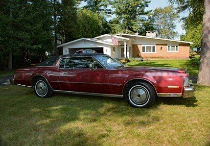 1974 lincoln Continental for sale 100911527