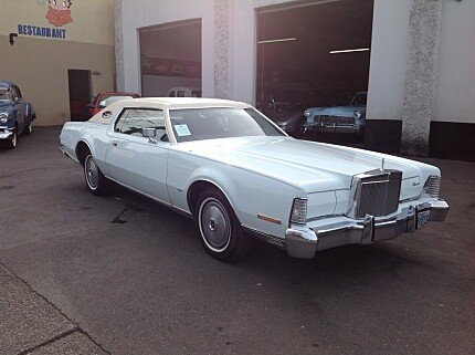 1974 lincoln Continental for sale 100974601