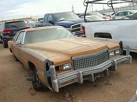 1975 Cadillac Eldorado for sale 101023208