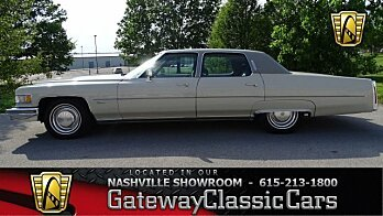 1975 Cadillac Fleetwood for sale 100987339