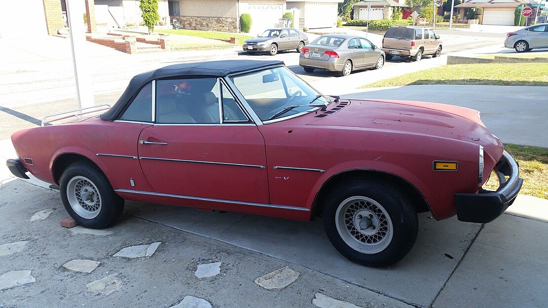 1975 FIAT Spider for sale 101026911