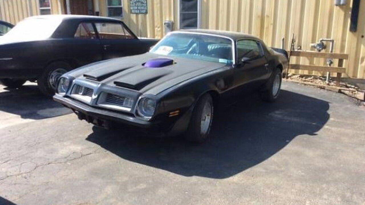 1975 Pontiac Firebird For Sale Near Cadillac Michigan 49601 Trans Am 100906841