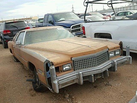 1975 cadillac Eldorado for sale 101023208