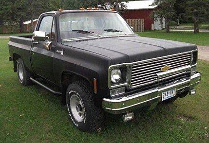1976 chevrolet c k truck classics for sale classics on autotrader. Black Bedroom Furniture Sets. Home Design Ideas