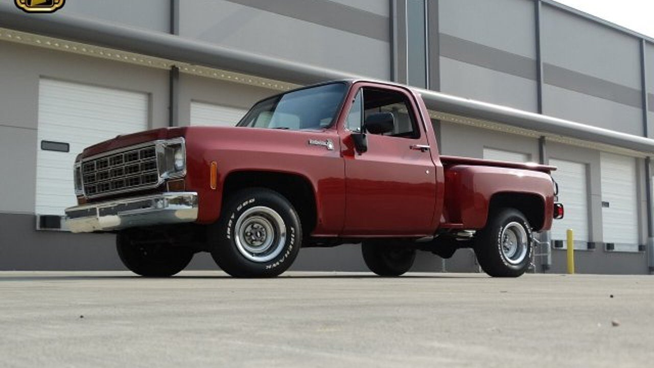 All Chevy 1976 chevy c10 : 1976 Chevrolet C/K Trucks Scottsdale for sale near O Fallon ...