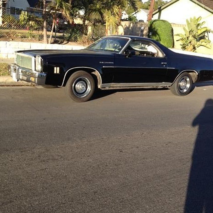 1976 chevrolet el camino v8 for sale near anaheim california 92804 classics on autotrader. Black Bedroom Furniture Sets. Home Design Ideas