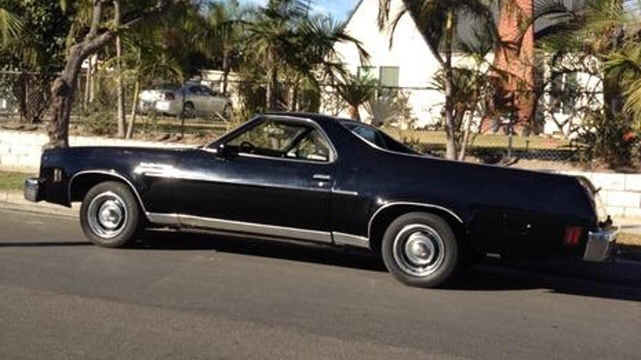 All Chevy 1976 chevy el camino : 1976 Chevrolet El Camino V8 for sale near Anaheim, California ...