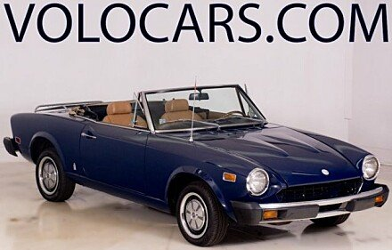 1976 FIAT Spider for sale 100841801