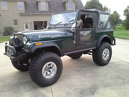 classic jeep cj 7s for sale classics on autotrader. Black Bedroom Furniture Sets. Home Design Ideas