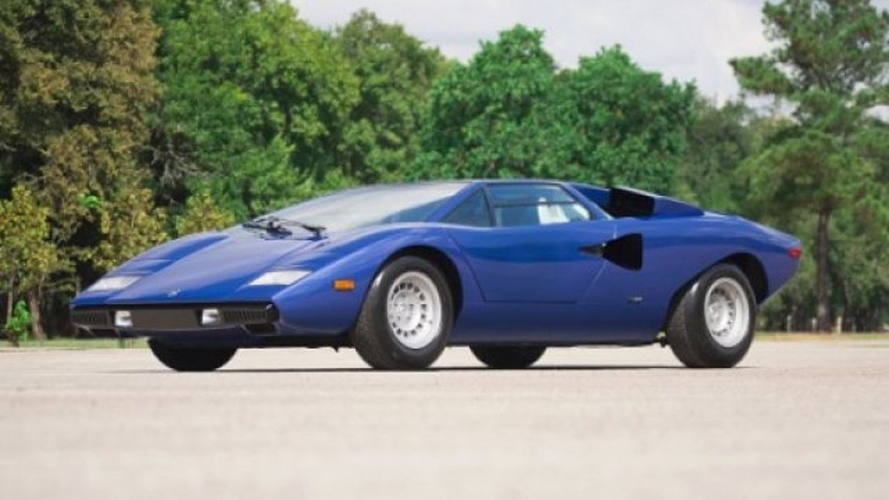 1976 lamborghini countach for sale near queens new york for Where can i get a motor vehicle report