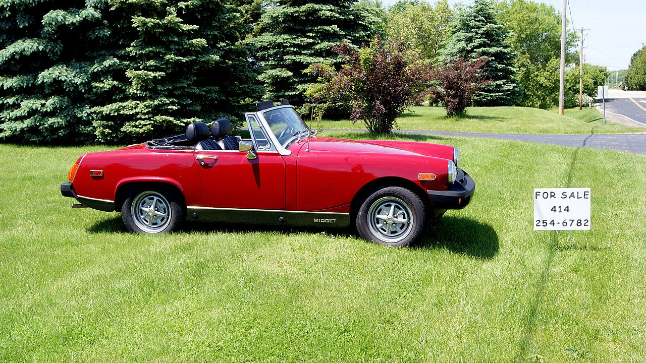 1976 Mg Midget For Sale Near Richfield Wisconsin 53076