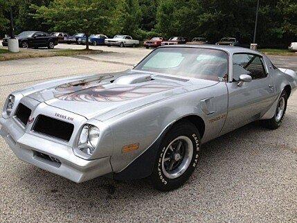 1976 Pontiac Firebird for sale 100780507