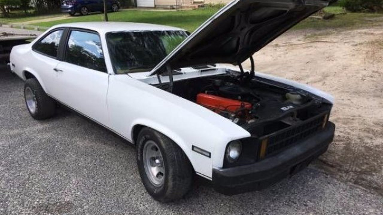 1976 chevrolet Nova for sale 100899423