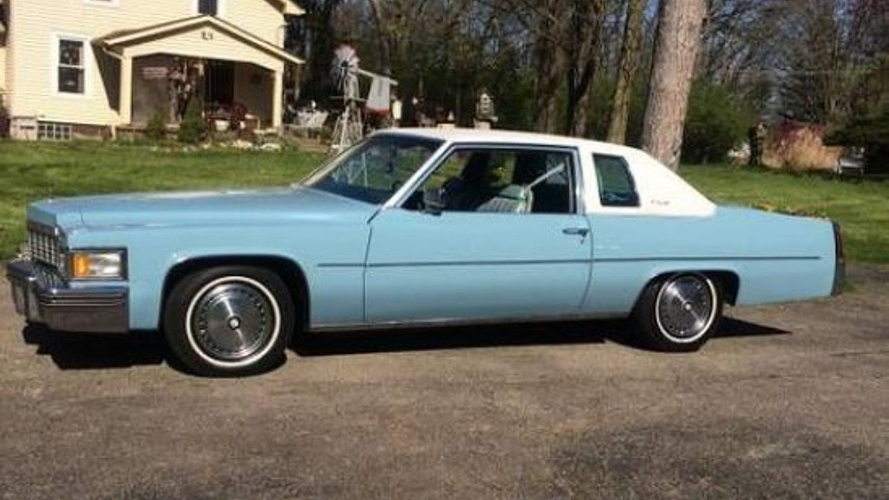 1977 Cadillac De Ville for sale 100857342