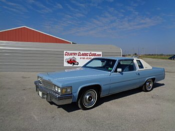 1977 Cadillac De Ville for sale 100915390