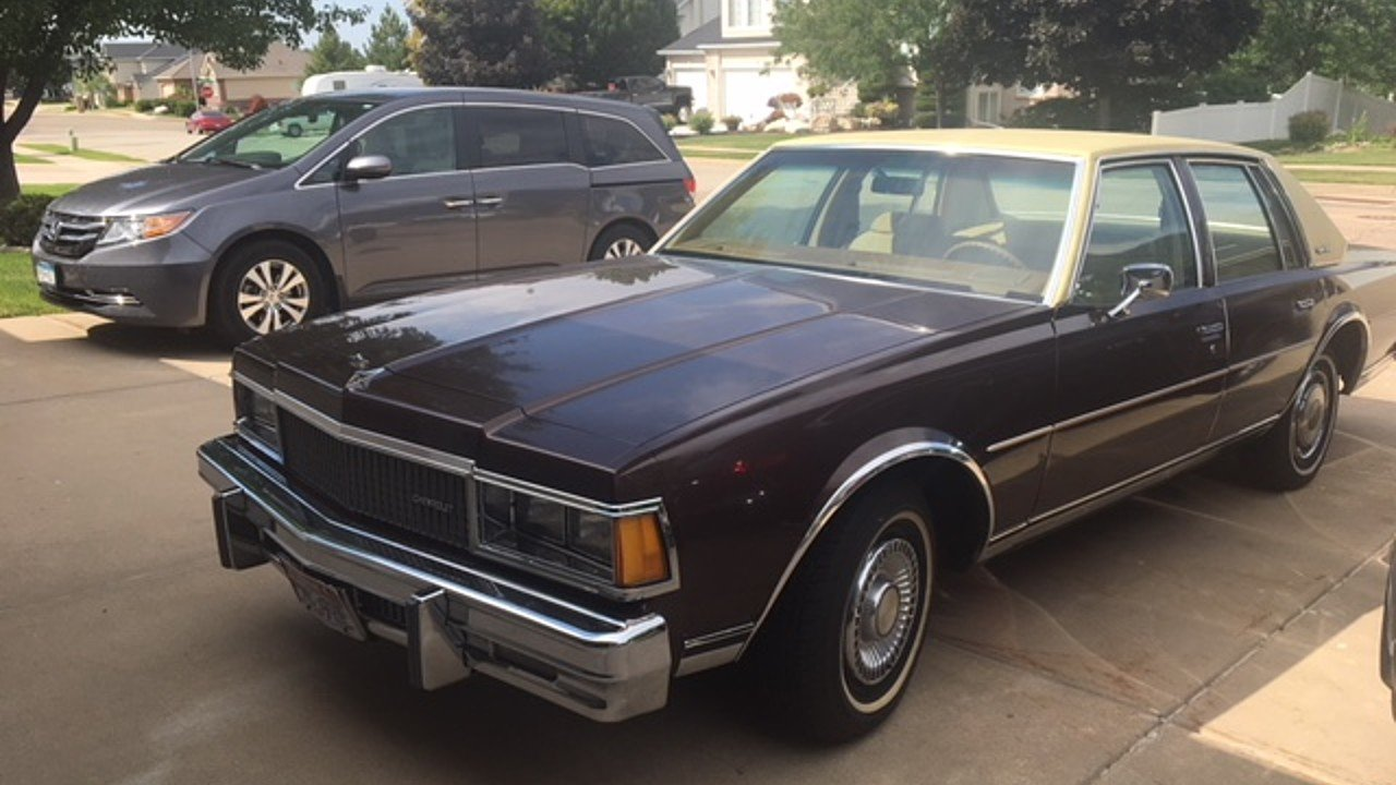 1977 Chevrolet Caprice Classic Sedan for sale 101033716