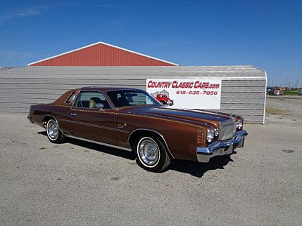 1977 Chrysler Cordoba for sale 100912327